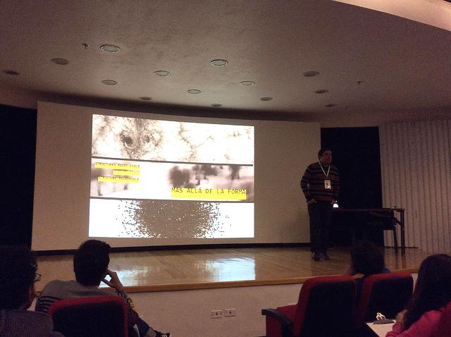 Charla de Carlos Moncada en el Primer Science Hack Day http://twitter.com/camoncadarios